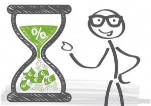 Investmentplan - Zeit ist Geld